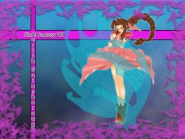 Aerith Gainsborough Vector by Gimpy10145