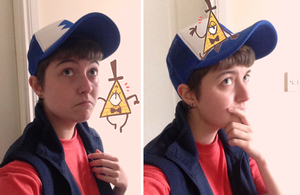 Cosplay: Dipper Pines! by nightmaw