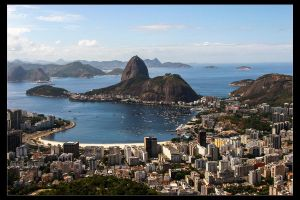 Postcard from Rio IV by Wyco