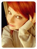 new red hair by lauraa-x