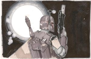Boba Fett 8/8 by Hodges-Art