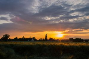 Countryside Sunset by ChewyFloyd
