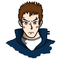 J-Man - Face - Colored by LPCD