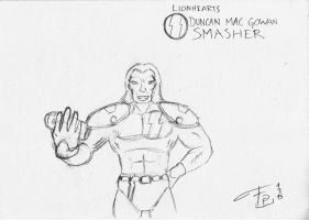 Lionhearts - Smasher by FG-Arcadia