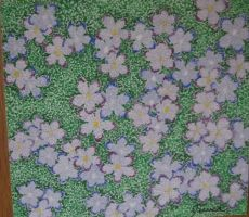 pointalism flowers by naboobabe