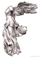 Goddess Nike of Samothrace by NikeGoddessNike