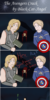 The Avengers comics by Black-Cat-Angel