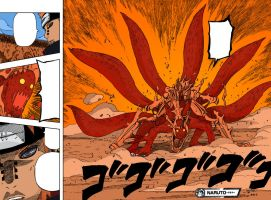 Naruto 6 Tail by Giuappa