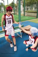 Kuroko no Basket - Half Time by AmenoKitarou