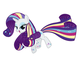 Rainbow Power Rarity by Ashidaru