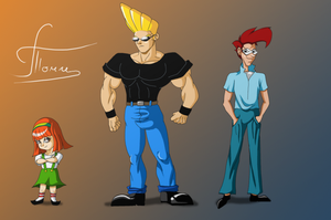 Johnny Crew Anime Style by Ninja-Master-Tommy