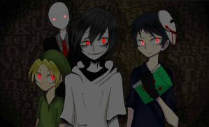 a pack of bishies by Sinnia