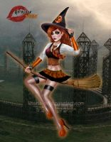 Halloween Hermione Granger by kharis-art