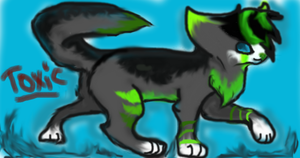 Toxic :3 by kittycatlover724