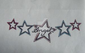 Angel Star Tattoo 2 by MadeByJanine