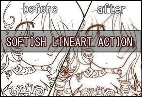 Softish lineart action by Faeth-design