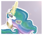 ~ Celestia Drinkin' Tea ~ by em-polonivm