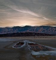 Death Valley Sunset by arches123