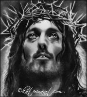 Jesus of Nazareth by Katerina-Art