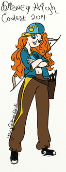 DHC2014-Merida by Youngjusticeaddict
