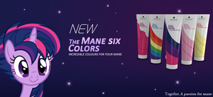 NEW ! The Mane Six Colors by Tardifice