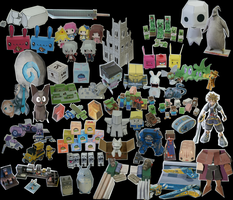 All my Papercrafts [updated again xD] by Dornogol