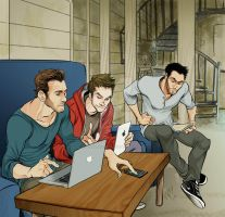 STEREK and PeterHale Commission by Slashpalooza