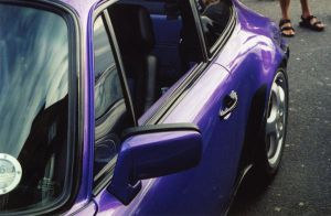 Purple Porsche by Akki14