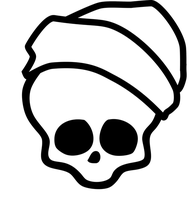 Skullete for Invisi Billy by AnaAosPedacos
