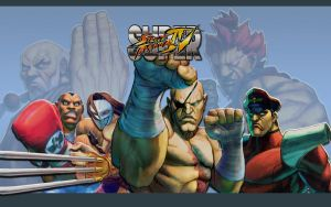 SSFIV - Boss - Wallpaper by iFab