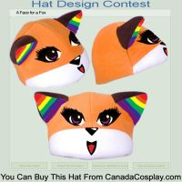 Face for a Fox Contest Entry by Asphyxia187