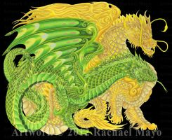 Dragons of Every Dawn YG, Y by rachaelm5