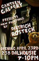april 23rd solo show poster by captainrosteck