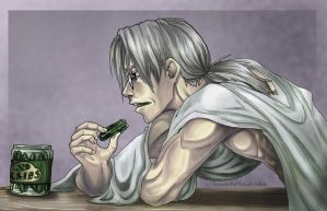 Kabuto: Pitiful Breakfast by Yakushi--Kabuto