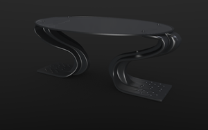 Sci-fi table concept by betasector