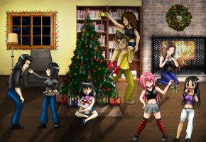 Biggest Xmas Collab 2008 by villamar