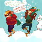 snow by Kayia