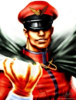 Street Fighter - M. Bison by TulioMinaki