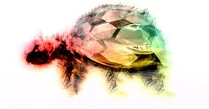 Tortuga (abstract version) by Mendezz18