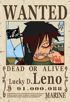 WANTED Lucky D. Leno by DaGreatVincE