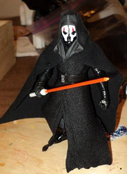 My take on a 6 inch Black series Darth Nihilus by toyphototaker