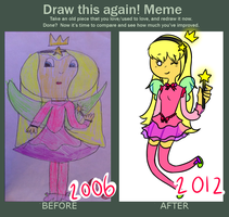 Draw this again! Meme by Friwil