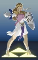 Princess Zelda Takes a Stand 2 by DanielHooker