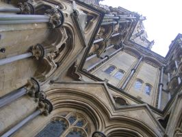 Close up of church by eattheafterbirth