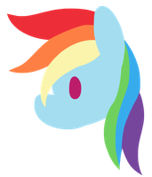 Rainbow Dash by Charlockle