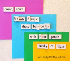 The Daily Magnet #189 by FridgePoetProject