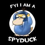 FYI I am a Spyduck by kitty-23
