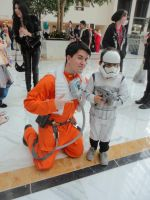 Star Wars Father And Son by OtakuDude83