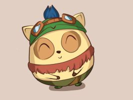 Jellybean teemo thing by Hamzilla15