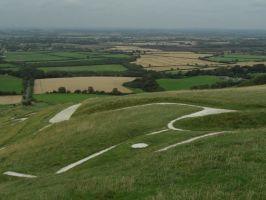 The Ridgeway - Uffington White Horse by PhilsPictures